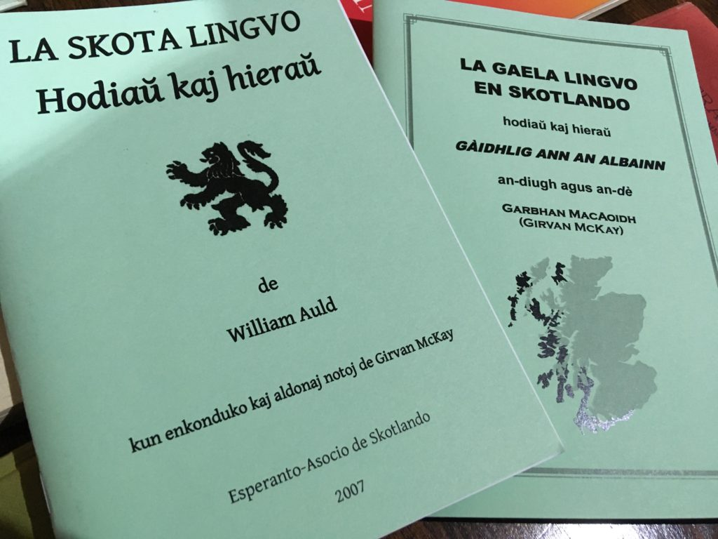 Gaelic and Scots books
