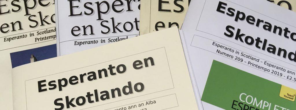 Esperanto en Skotlando
