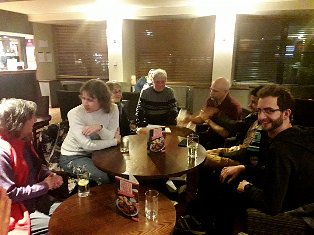 Glasgow club Feb 2020